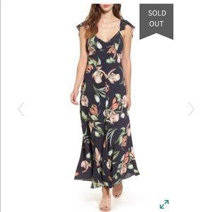 ASTR the Label Fleur Maxi Dress NWT